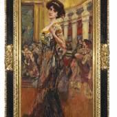 46 ALBERT VON KELLER Im Ballsaal, Wohl um 1895. Öl auf Leinwand Schätzpreis: € 15.000 - 20.000