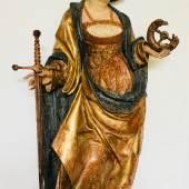 Katharina, Schwaben, um 1500, H: 81 cm Bild: Antiquitäten und Bildergalerie Anton Figl