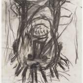 "Georg Baselitz, ""Kopf"" (1981). Kunstmuseum Basel, Kupferstichkabinett"