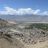 Blick auf Leh, Jammu und Kashmir/Indien © Marcus Nüsser