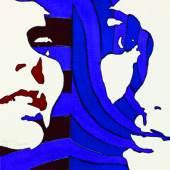 Copyright: Werner Berges Courtesy: DavisKlemmGallery Werner Berges Komisch, 1971 Rapidograph, Collage, Folie auf Schoellershammer, 43 x 34 cm