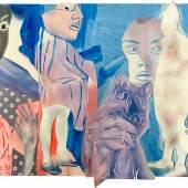 Monika Thiele. C19003. 2019. Collage. 66 x 75 cm.