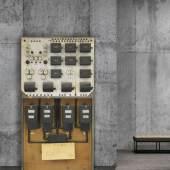 357 Joseph Beuys Wo ist Element 3?, 1984. Installation. Stromzähler, Sicherungen, Schalte... Schätzpreis: € 600.000 - 800.000