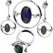 Set: Opal-Schmuck