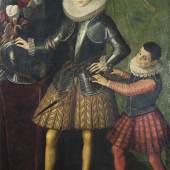 Sofonisba Anguissola, Porträt Giuliano II Sforza-Cesarini mit Pagen, erzielter Preis € 179.800