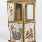 Louis XVI-Sänfte, Frankreich, Ende 18. Jh., Schätzwert € 10.000 - 15.000, Fotonachweis: Dorotheum
