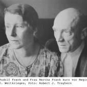 Dr. Rudolf Frank und Frau Bertha Frank