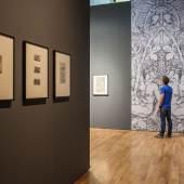 Blick in die Ausstellung Ornament - Ausblick auf die Moderne. Ornamentgrafik von Dürer bis Piranesi