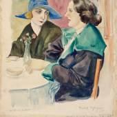 Rudolf Schlichter, Gruß aus Lesbos, um 1923