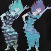 121000083 Andy Warhol Satyric Festival Song (from Martha Graham Portfolio), 1986. Farbserigrafie Schätzpreis: € 18.000 - 24.000