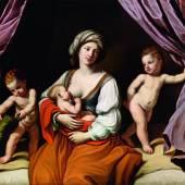 Giovanni Francesco Barbieri, gen. il Guercino (1591 - 1666) Caritas, Öl/Leinwand, 138,5 x 172,5 cm, Schätzwert € 200.000 - 300.000 Fotonachweis: Dorotheum
