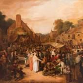 Carse, Alexander (ca. 1770 Schottland - 1843, Darstellungen dörflicher Alltagsszene, Mindestpreis:20.000 EUR