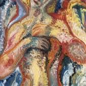 Johann Bossard, 'Weiblicher Halbakt'