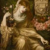 Dante Gabriel Rossetti Roman Widow (Dîs Manibus), 1874 Öl auf Leinwand 104,8 x 93,3 cmCollection Museo de Arte de Ponce. The Luis A. Ferré Foundation, Inc., Ponce, Puerto Rico.Foto : John Betancourt