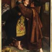 John Everett Millais The Escape of a Heretic 1559, 1857 Öl auf Leinwand 109,3 x 79,1 cm Collection Museo de Arte de Ponce. The Luis A. Ferré Foundation, Inc., Ponce, Puerto Rico.Foto : John Betancourt