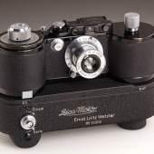Leica 250 GG + Leica-Motor, Nr. 352404, Startpreis: 140.000 EUR Schätzpreis: 250.000 - 300.000 EUR Ergbenis: 576.000 Euro