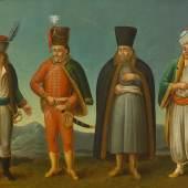 Völkertafel, um 1725, Österreichisches Museum für Volkskunde, Wien (Ausschnitt)  © Österreichisches Museum für Volkskunde, Wien / Birgit & Peter Kainz, faksimile digital