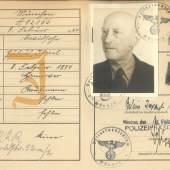 Kennkarten-Duplikat von Julius Davidsohn, Februar 1939 Stadtarchiv München, KKD-572 © Stadtarchiv München
