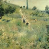 Auguste Renoir Ansteigender Weg durch hohes Gras, 1876/77Öl auf Leinwand, 60 x 74 cmMusée d'Orsay, Paris© Musée d'Orsay, Dist. RMN-Grand Palais / Patrice Schmidt