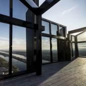 12rooftop view 360 Grad Rundumsicht in 250 Meter Höhe: Die Donau und Wien zu Füßen, den Horizont bis nach Bratislava und zum Wienerwald im Blick. © DC Towers / Michael Nagl