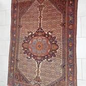 Brücke,Persien,Malayer,Wolle auf Baumwolle,ca.80-100 Jahre alt,ca.188x154cm