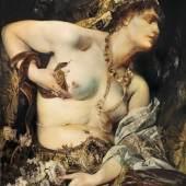Hans Makart (1840 - 1884) Der Tod der Kleopatra, erzielter Preis € 757.300