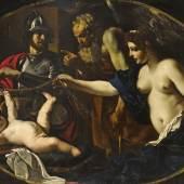 Giovanni Francesco Barbieri, il Guercino (1591 - 1666) Venus, Mars, Cupidus und Chronos, Auktion 17. April 2013, Schätzwert € 200.000 - 300.000