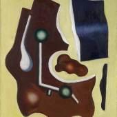 Fernand Léger (1881 - 1955) Composition au fond jaune, 1932, Auktion 15. Mai 2013, Schätzwert € 300.000 - 400.000