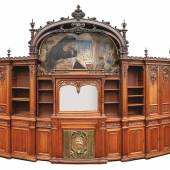 Große Historismus-Apotheke - Wien, letztes Dr. 19. Jh.