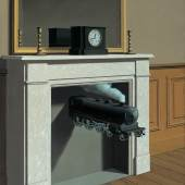 René Magritte Time Transfixed, 1938 The Art Institute of Chicago © VBK Wien, 2011