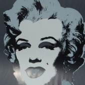 """Andy Warhol(1928-1987)""""Marilyn Monroe"""",Siebdruck, rückseitig bezeichnet """"Sunday by morning"""",ca.91x90 cm"""