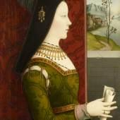 Niklas Reiser Maria von Burgund, um 1500 Kunsthistorisches Museum, Wien, Gemäldegalerie