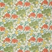 Lindsey Butterfield, Dekorstoff mit Blattranken und Blüten, London, 1895  Ausführung: Liberty Art Fabrics, Regent Street © MAK/Katrin Wißkirchen