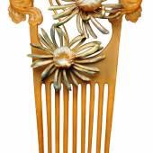 "Schmuckkamm ""Chrysanthemen""  René Lalique"