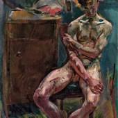 Anton Kolig, Sitzender Jüngling (Am Morgen), 1919 © Leopold Museum, Wien, Inv. 406