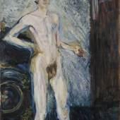 Richard Gerstl, Selbstbildnis als Halbakt, 1902/04 © Leopold Museum, Wien