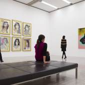 Ausstellungsansicht Pop and the Sixties (v.l.: Andy Warhol, Mick Jagger, 1975; Andy Warhol, Skull, 1976) Foto: mumok © mumok/A. Warhol Foundation for the Visual Arts, New York/VBK Wien 2012