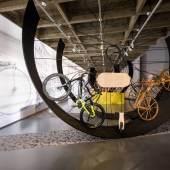 """Blick in die Ausstellung """"Frischluft? Freiheit! Fahrrad!"""", Museum im Zeughaus, 4.5.2018 – 6.1.2019 Foto: Wolfgang Lackner"""