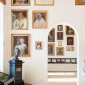 Kaiserjägermuseum  Porträts der Äbte von Stift Wilten, Kaisersaal/Saal 5, Kaiserjägermuseum  © TLM