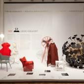 """Programmpartner 2014 MAK / Ausstellungsansicht VORBILDER. 150 Jahre MAK: Vom Kunstgewerbe zum Design, mit der von Lidewij Edelkoort nominierten """"Vorbildsammlung"""""""