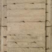 Giuseppe Uncini (1929-2008) Cementoarmato, 1961, Stahlbeton, Zement, Eisen, 150 x 96 cm erzielter Preis € 295.800 WELTREKORDPREIS