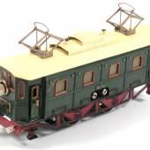 Nr. 286 Märklin E-Lok, Spur 0 RS 66/13020, Blech, handlackiert, Länge 25 cm Rufpreis € 1.100