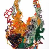 : Joyce Scott  Collier Skelett, 1990er Jahre Glasperlen Sammlung Bollmann © MAK/Nathan Murrell