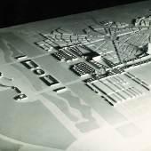 Baumodell Neugestaltung Wien mit Gauforum und ?Baldur von Schirach?-Insel, 1941 Copyright: Architekturzentrum Wien, Sammlung