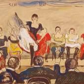 Edvard Munch Tingeltangel, 1895 Privatsammlung Courtesy Galleri K, Oslo © Reto Rodolfo Pedrini, Zürich