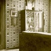 Wien IV., Margaretenstraße 5, 1912–1914  Detail des Wohnzimmers der Wohnung Josef Hoffmanns Foto: unbekannt © Gemeinde Brtnice