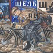 Natalia Gontscharowa Radfahrer, 1913 Öl auf Leinwand