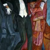 Boris Grigorjew Porträt von Wsewolod Meyerhold, 1916 St. Petersburg, Staatliches Russisches Museum