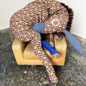 Stephen Wilks, Diamond Donkey, 2020, Textile, Cot…t & the artist