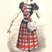 Anonym, Le Moniteur de la Mode, Paris, 1890 Kreidelithografie © MAK